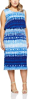 My Size Women's Plus Size Deep Blue Maxi, Blue