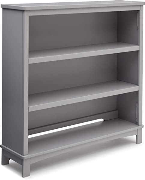Delta Children Rowen Convertible Bookcase Grey