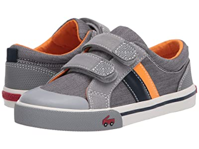 See Kai Run Kids Russell (Little Kid) (Gray/Orange) Boys Shoes