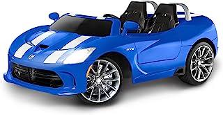 Kid Trax Dodge Viper SRT 12V Battery-Powered Ride-On Toy, Blue