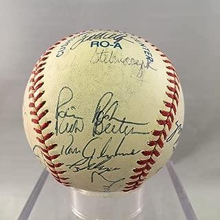 1996 Minnesota Twins Team Signed American League Baseball Paul Molitor - Autographed Baseballs