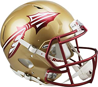 Riddell Sports NCAA Florida State Seminoles Speed Authentic Helmet, Gold