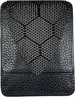 M3 Wasp Carbon Fiber Wallet Black Leather 1 Point Real Carbon Fiber Money Clip