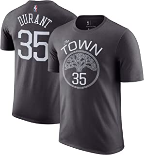 Kevin Durant Golden State Warriors Gray Youth Name & Number Statement Alternate T-Shirt