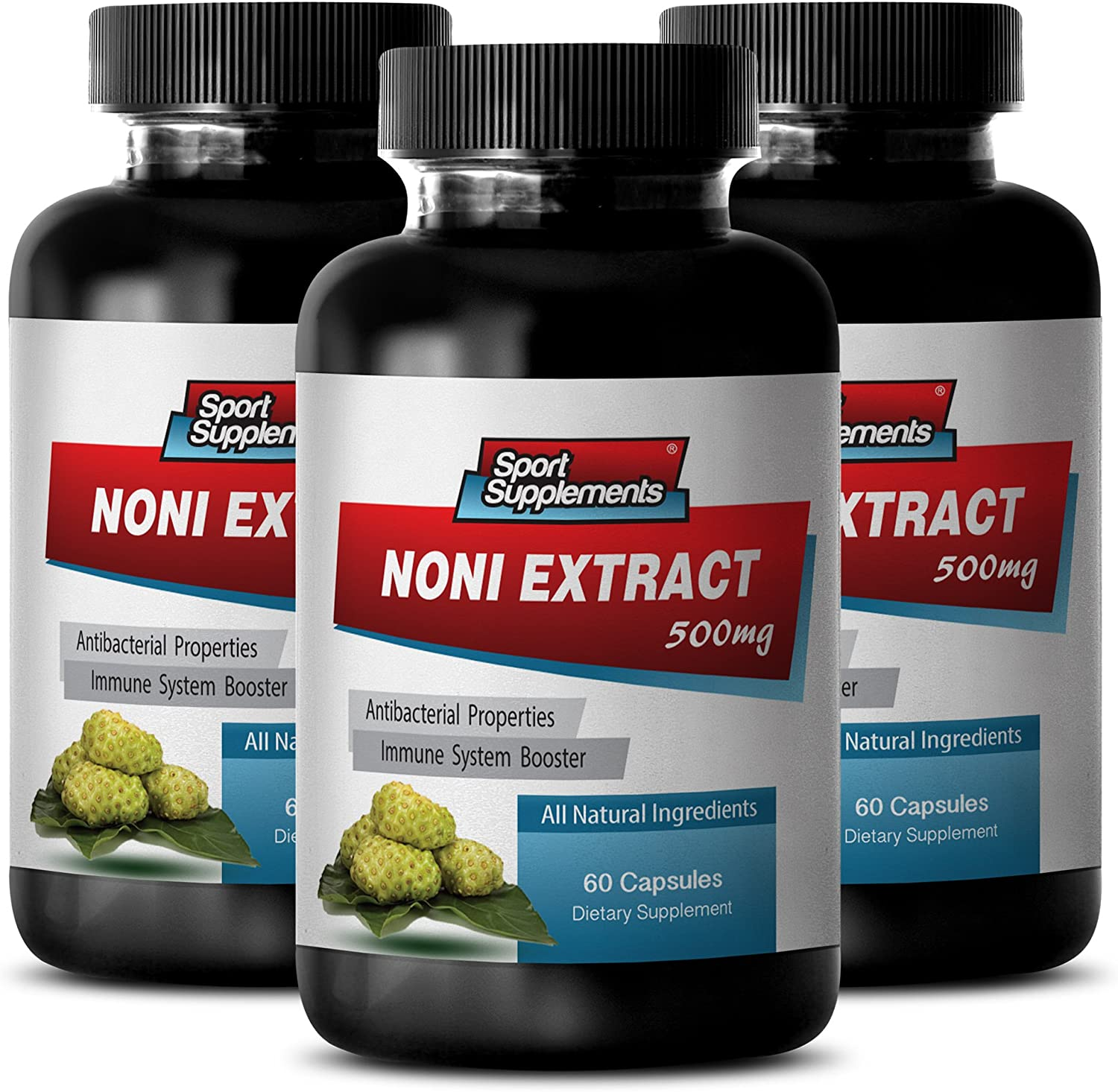 Pure noni Capsules Large Surprise price special price - NONI Antioxidant Extract 3 Boost 500mg
