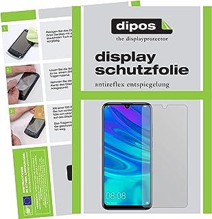 dipos I 6x skärmskydd matt kompatibelt med Huawei P Smart Plus (2019) Skyddsfilmer (3 x framsida + 3 x baksida)