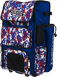 Boombah Rolling Superpack Baseball/Softball Gear Bag - 23-1/2