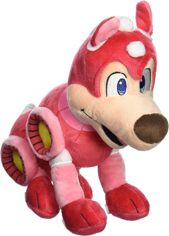 Little Buddy Mega Man All Star Collection 9Inch Rush Robot Dog Stuffed Plush