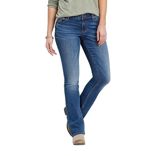 b1519abd7fa Maurices Women s Denimflex™ Medium Wash Slim Boot Jeans 11 12 Medium  Sandblast
