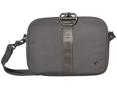 Pacsafe Citysafe CX Anti-Theft Square Crossbody (Econyl(r) Storm) Handbags