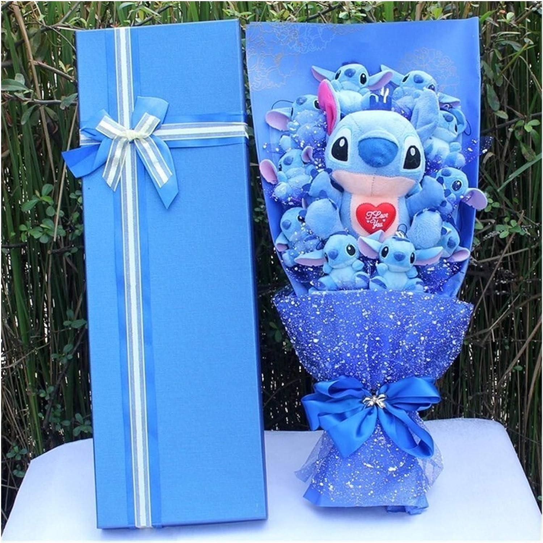 JUNMAIDZ Plush Toys Cartoon Flower Max 90% service OFF Kawaii Toy Grad Bouquet