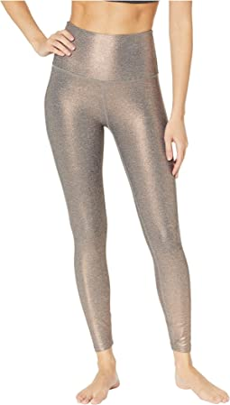 Dusted High-Waisted Midi Leggings