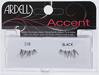 Ardell Accents Eye Lashes, 318 Black