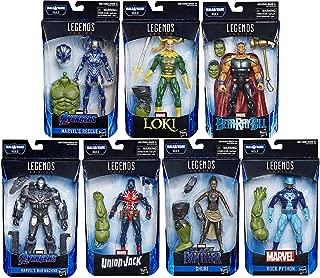 Avengers: Endgame Marvel Legends Wave 2 Set of 7 Figures (Hulk BAF)