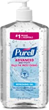 PURELL Advanced Hand Sanitizer Refreshing Gel for Workplaces, Clean Scent, 20 fl oz Pump Bottle (Pack of 12) – 3023-12,Clear