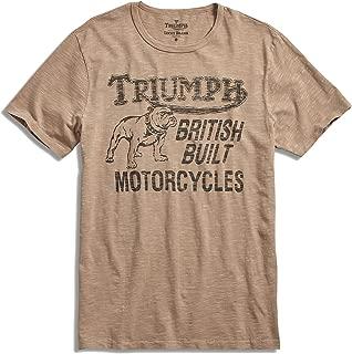 Men's - Triumph Motorcycle Bulldog Logo T-Shirt