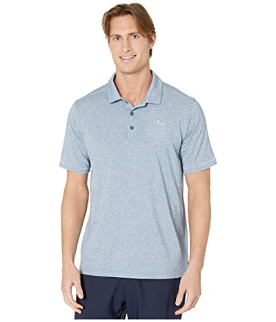 PUMA Golf Rancho Polo (Dark Denim Heather) Men