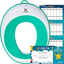Potty Training Seat for Boys and Girls | Toddler Potty Ring | Fits Most Round and Oval Toilets | Free Folding Toilet Training Chart, Kids Toilet Training Essentials eBook | Gift Box …