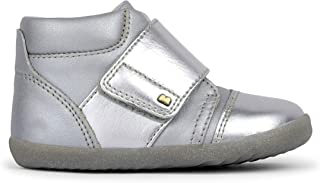 Bobux Step Up Boston Hi Top Trainer_Primeros Chaussures de sport pour bébé Bobux en cuir