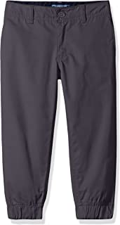 CHEROKEE Boys' Uniform Twill Jogger Pant with Adjustable Waist