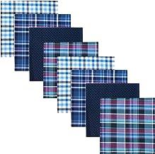 8 Pack Men's Handkerchief