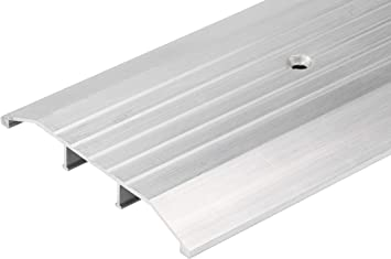 3 FT 36 4 Wide x 1//4 High Corrugated Aluminum Threshold Long