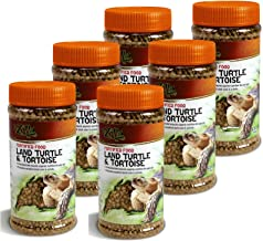 Zilla 6 Pack Of Land Turtle And Tortoise Extruded Food Pellets, 6.5 Ounces Each