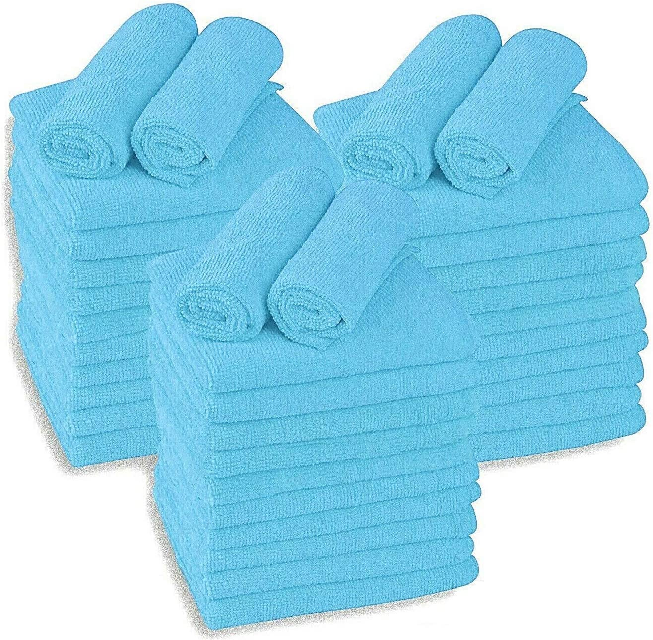 Large Microfiber Cleaning Towels 36-Pack Wash Max 41% OFF San Jose Mall Ultra Plush Soft