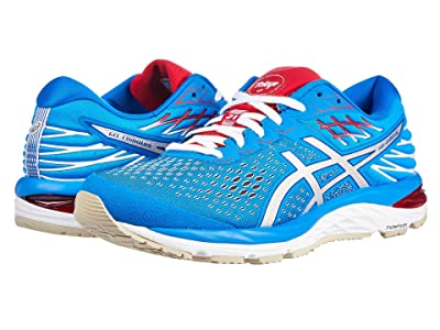 ASICS GEL-Cumulus(r) 21 (Electric Blue/White) Women