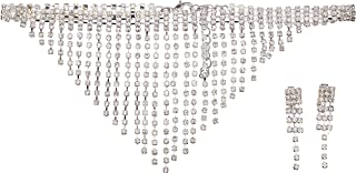 California Costumes Costume Women's Marilyn Jewelry Set, Silver, One Size (disfraz)