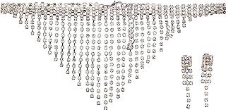 California Costumes Costume Women's Marilyn Jewelry Set, Silver, One Size (disfraz)