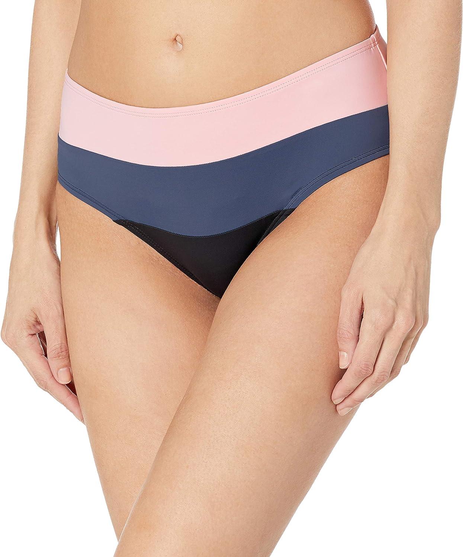 Skye Women's Standard Alessia Hi Waist Ruched Bikini Bottom Swimsuit