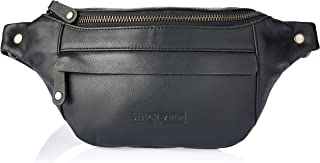 Stitch & Hide Women's Bailey hip bag Satchels, Black, One Size