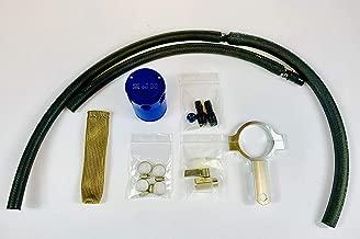 2J-Racing B17 Sentra SR Turbo Nismo Catch Can Kit (Blue 2JR Engraved)