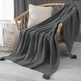بطانية أريكة نورثلاند بطانية غفوة ، شالات ، بطانية محبوكة ، بطانية صوفية ، بطانية تكييف هواء ترفيهية