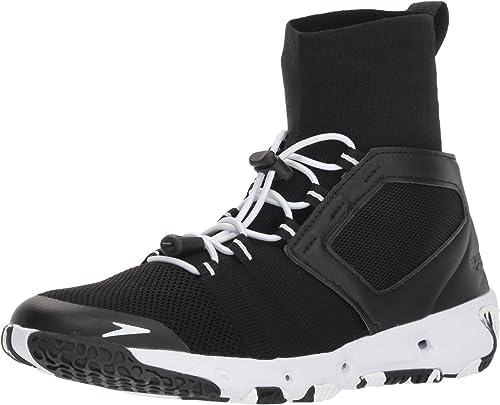Speedo Wohommes Hydroforce XT Fitness Water chaussures, noir blanc, 6H C D US