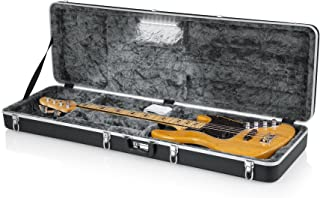 Gator Cases Deluxe ABS Molded Case for Bass Guitar with Internal LED Lighting (GC-BASS-LED)