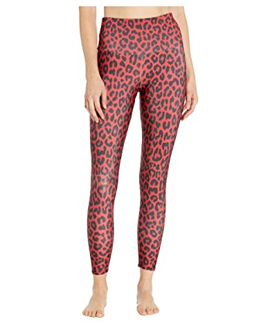 Onzie High Basic Midi (Red Leopard) Women