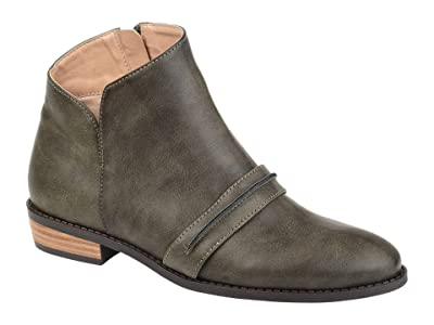 Journee Collection Harlow Bootie (Grey) Women