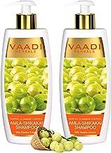 Vaadi Herbals Amla With Shikakai & Reetha Shampoo Hair Fall And Damage Control Shampoo All Natural Herbal Shampoo Paraben ...