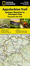 Download Appalachian Trail, Springer Mountain to Davenport Gap [Georgia, North Carolina, Tennessee] (National Geographic Topographic Map Guide, 1501) PDF