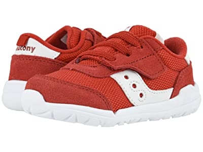 Saucony Kids Originals Jazz Riff (Toddler/Little Kid) (Red/White) Kid