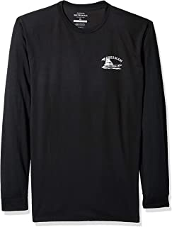 قميص Quiksilver رجالي بأكمام طويلة مطبوع عليه Lauderdale