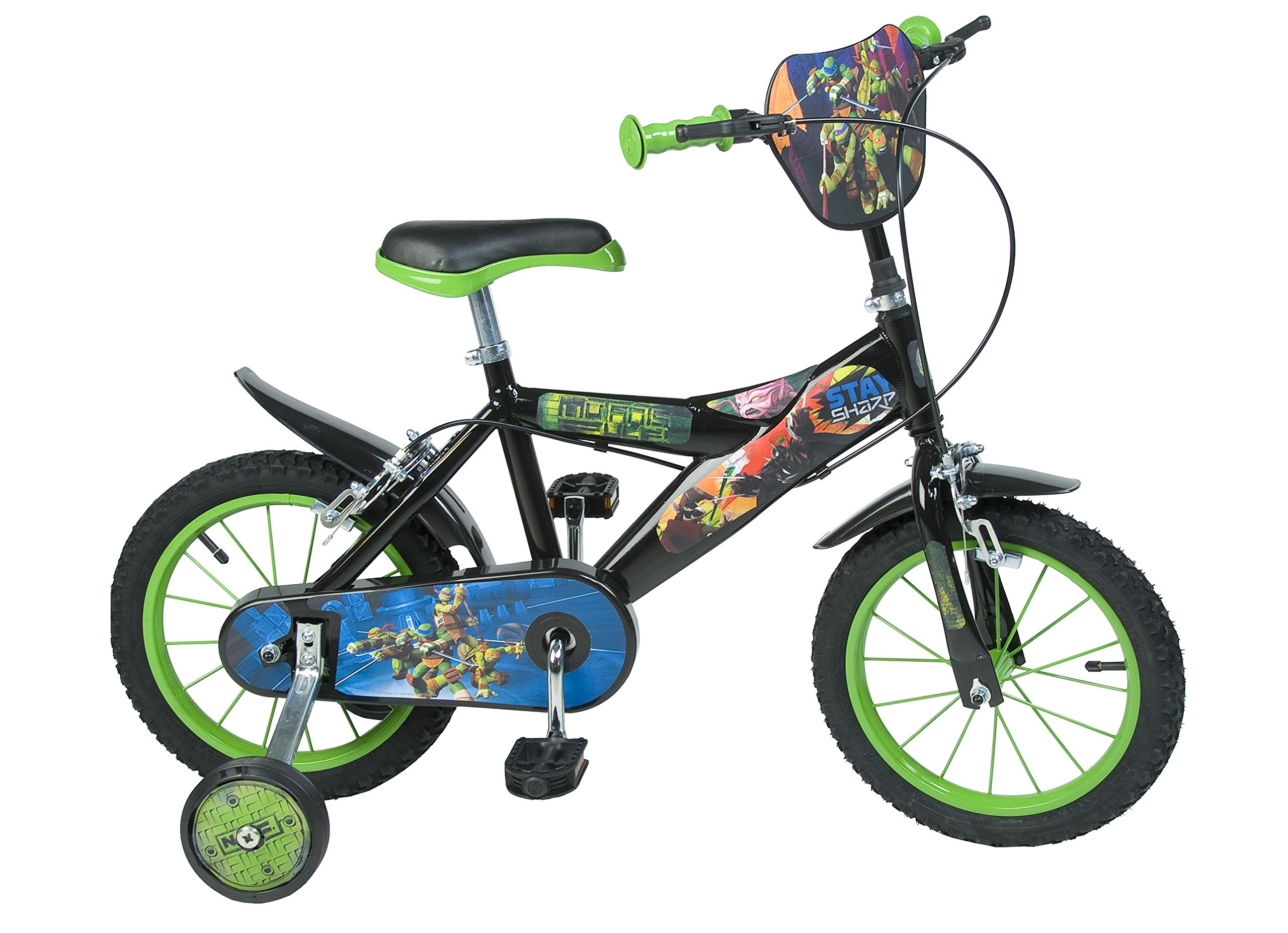 TORTUGAS NINJA - Bicicleta de 14