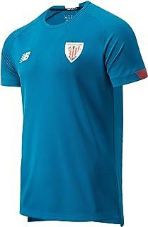 New Balance Athletic Club On-Pitch Camiseta MC Entreno Maglietta da Allenamento ACB da Uomo Uomo