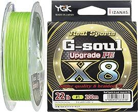 YGK G-Soul X8 Upgrade PE 22lb (#1) 200m by YGK