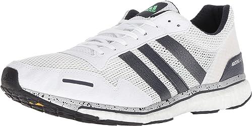 Adidas Hommes's Adizero Adizero Adizero Adios 3 FonctionneHommest chaussures, Legend Ink Shock Lime hi-res bleu, 13 M US 7dc