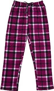 North 15 Women's Super Cozy Minky Fleece Pajama Bottom Lounge Pants (S - 4XL)