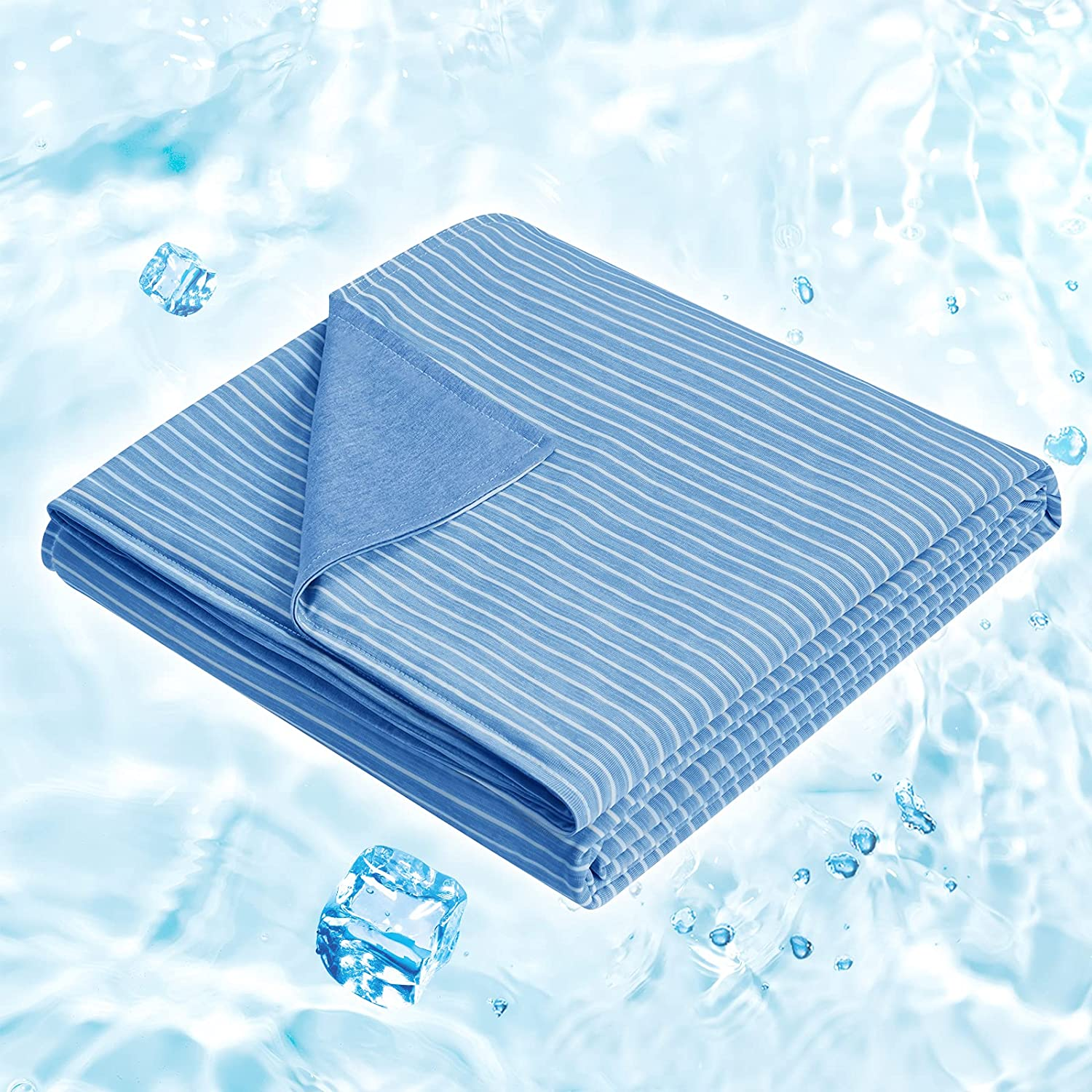 HOMEIDEAS Cooling Blanket Dedication Fresno Mall Twin Size Slee Hot Summer for