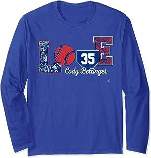 Cody Bellinger Love Player Long Sleeve T-Shirt - Apparel